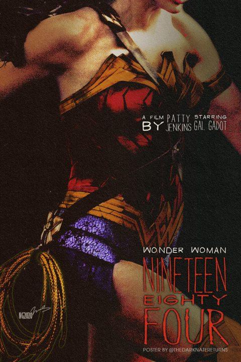 WONDER WOMAN NINETEEN EIGHTY FOUR
