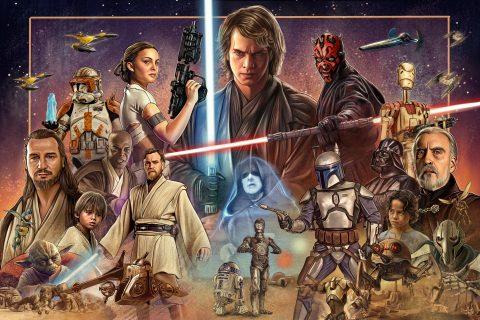 Star Wars Precuel Poster