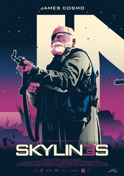 OFFICIAL SKYLINES Character Posters (2nd Half)