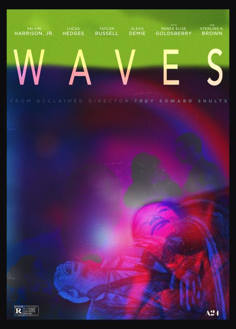 Waves (2019) AltPoster