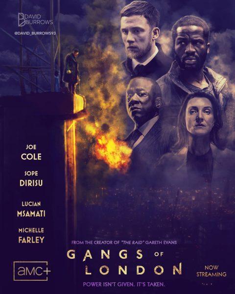 Gangs of London AMC Poster