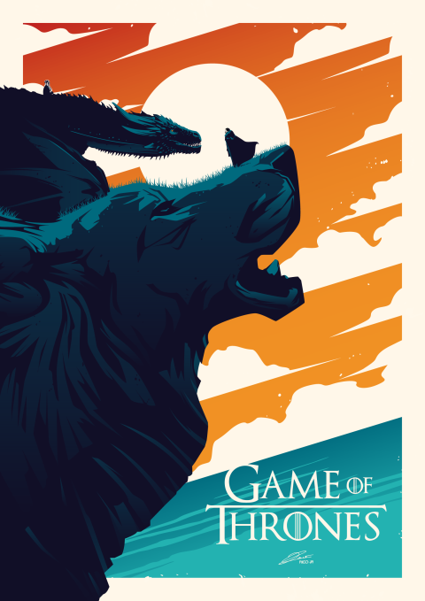 GAME OF THRONES Poster Art