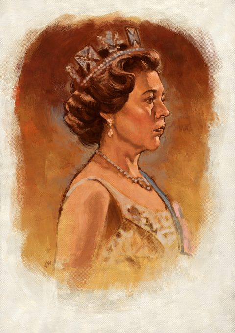 The Crown painting/sketch