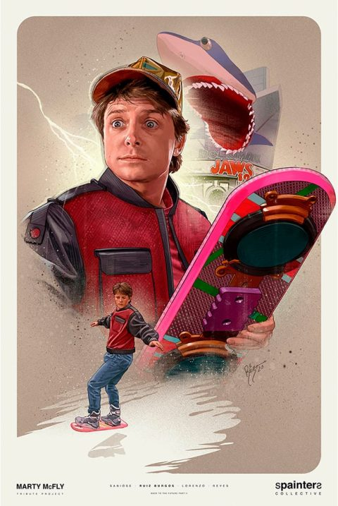 SPAINTERS – MARTY MCFLY TRIBUTE