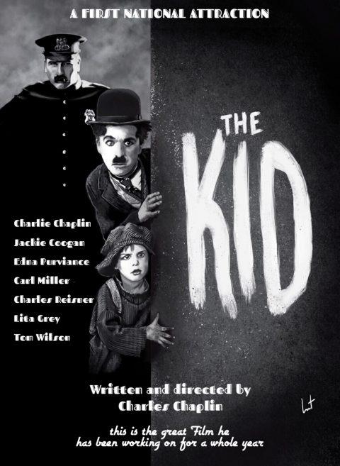 The Kid 1921 Charlie Chaplin #charliechaplin