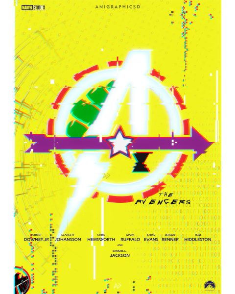 Marvels The Avengers X Cyberpunk