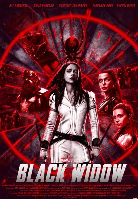 Black Widow alternative poster