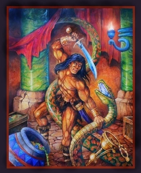 Conan and the Curse of Set
