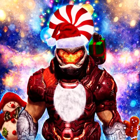 Doom Eternal – Santa Slayer