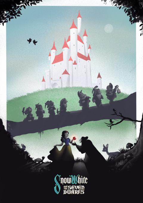 Snow White by Simon Fairhurst