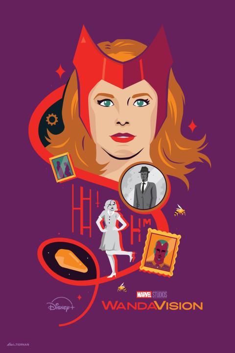 Marvel Studios WandaVision Poster