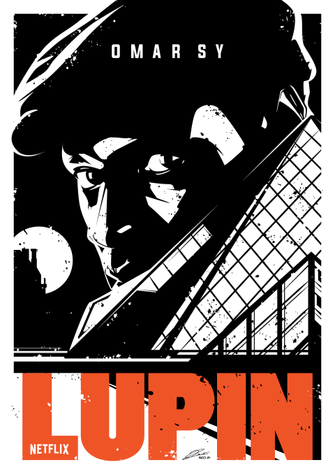 LUPIN Poster Art