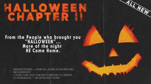 Halloween chapter II Original Halloween 2 (1981) Style Poster ad