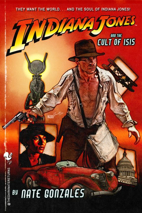 INDIANA JONES AND THE CULT OF ISIS (oc)