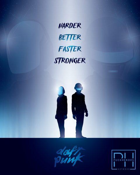 Daft Punk Tribute Design