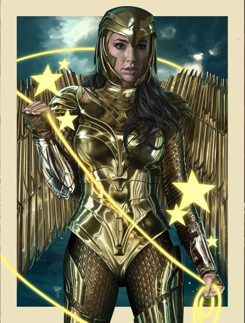 WONDER WOMAN 1984 (Gold Armor)