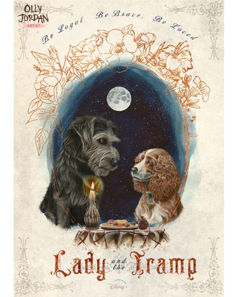 Lady and the Tramp Posters