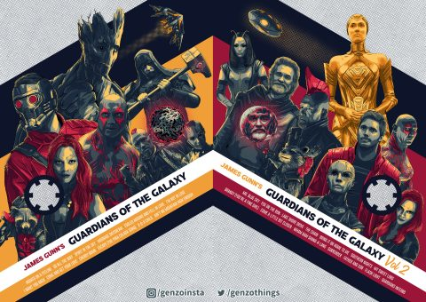 Guardians of the Galaxy Vol 1-2