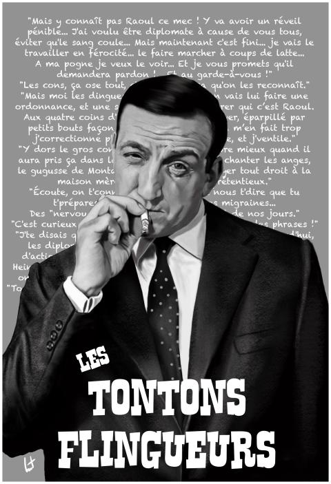 Les Tontons flingueurs – Lino Ventura 1963 #linoventura