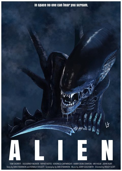 Alien 1989 xenomorph