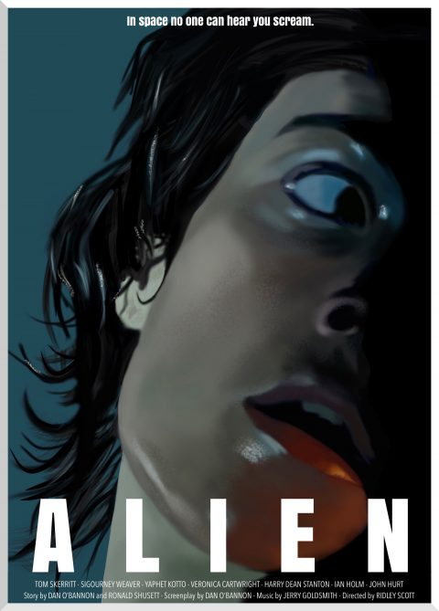 Alien 1979 alterntive poster