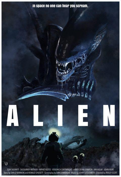 Alien 1979 alternative version 3 with rescue team