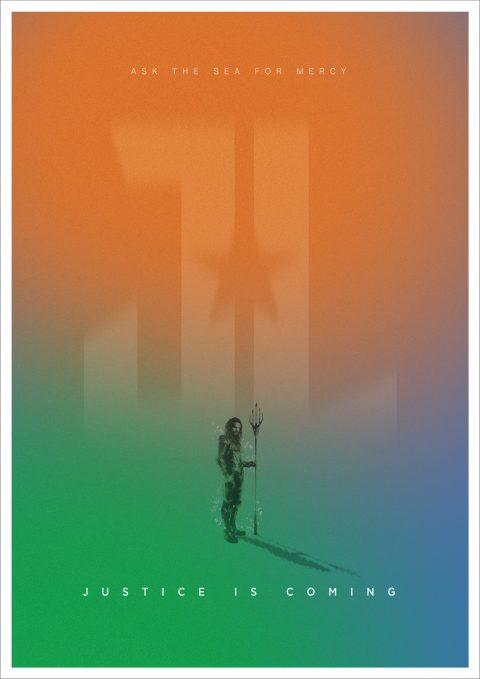 Justice League – Character Poster – Aquaman