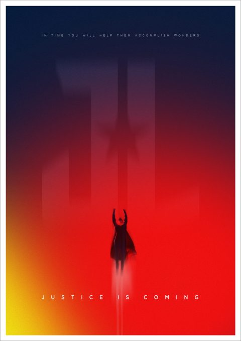 Justice League – Character Poster – Superman