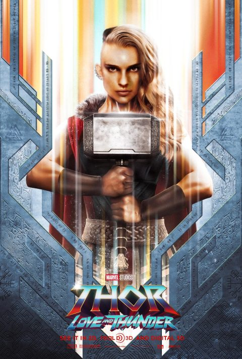 """""""Thor: Love and Thunder"""" Character Poster"""