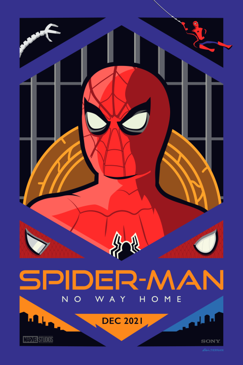 Spider-Man: No Way Home Poster (Variant)