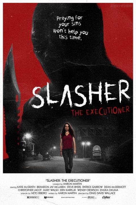 Slasher Season 1: The Executioner –  80's Poster