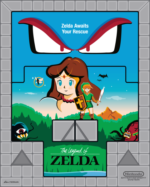 The Legend of Zelda NES Show – Gallery 1988