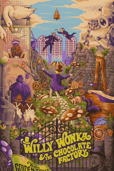 Willy Wonka & the Chocolate Factory – 1974