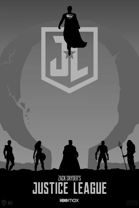 Zack Snyder's Justice League (B&W)