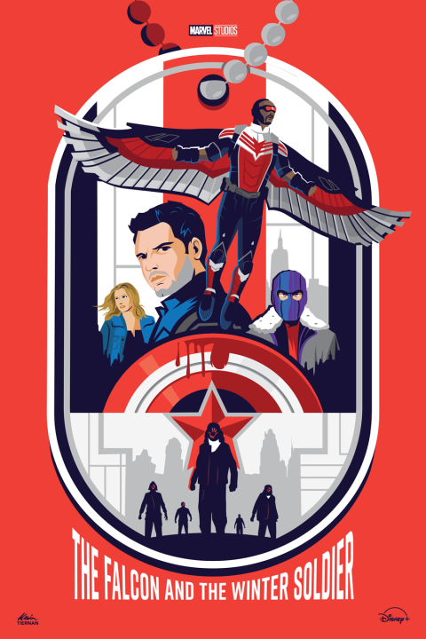 The Falcon and the Winter Soldier (Red Version)