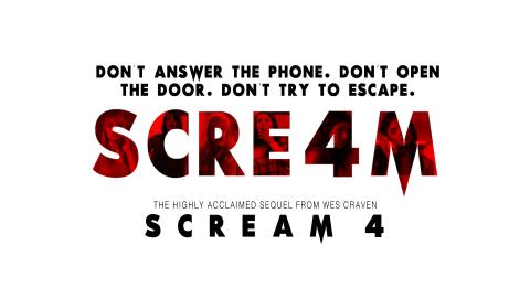 Scream 4 (2011) Original 1996 Style Poster (1920×1080)