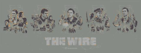 The Wire Complete Series Posters