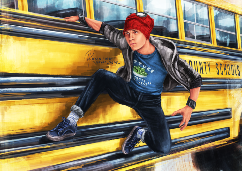 Peter Parker Bus Ride