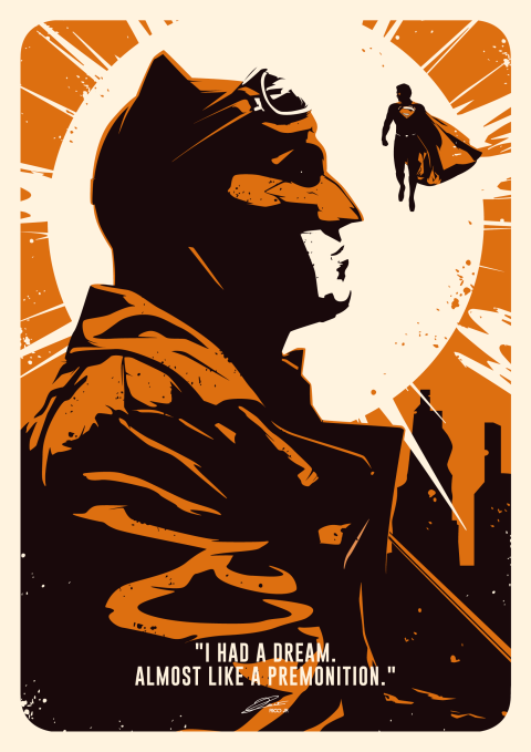 KNIGHTMARE BATMAN Poster Art