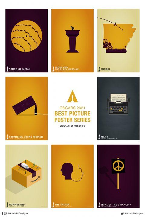 Oscars 2021 Poster Series