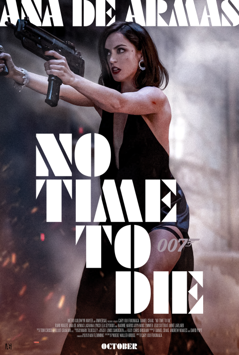 """No Time To Die"" Character Poster for Ana De Armas"