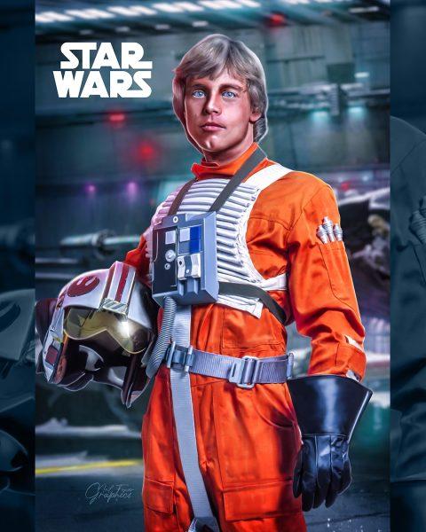 Luke star wars tribute