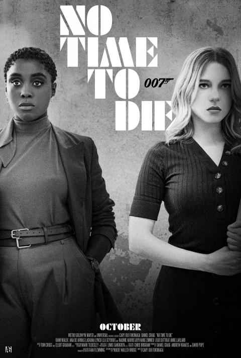"""No Time To Die"" Black & White"