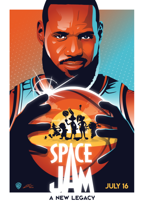 SPACE JAM 2 Poster Art