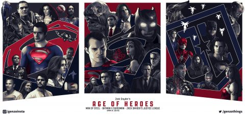Zack Snyder's Age of Heroes TRIPTYCH