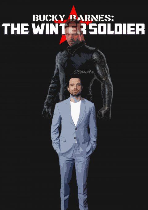 Sebastian Stan aka Bucky Barnes aka The Winter soldier