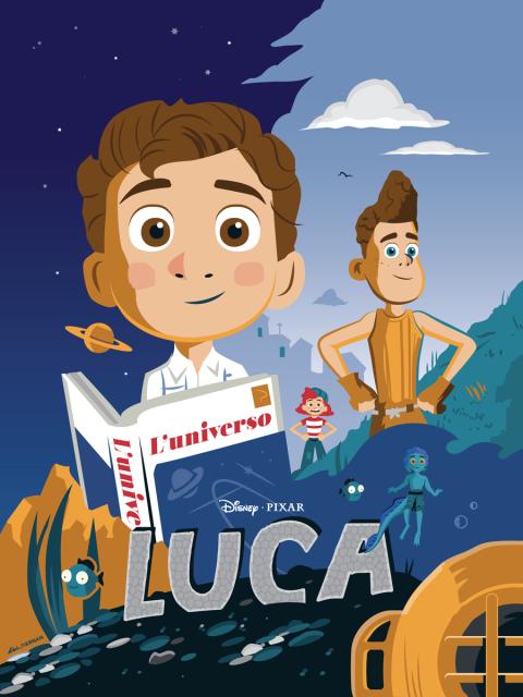 Disney-Pixar's Luca Poster