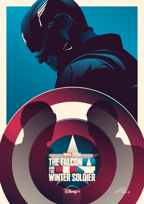 FALCON AND THE WINTER SOLDIER (US AGENT) Poster Art