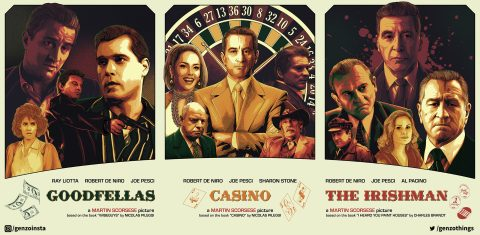Martin Scorsese's Gangsters triptych