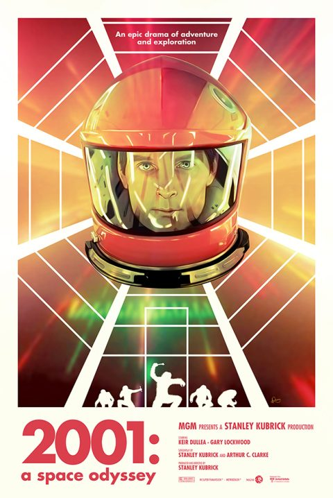 2001: A SPACE ODYSSEY   PosterPosse Project  Reverse Commission by CCP